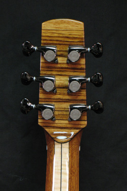 detail of everett guitar
