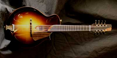 handmade mandolin model E4