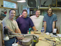 aug 2005 guitar building class