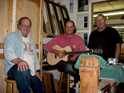 october 2005 students learn how to build an acoustic guitar