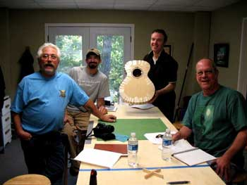 oct 2010 guitar building class